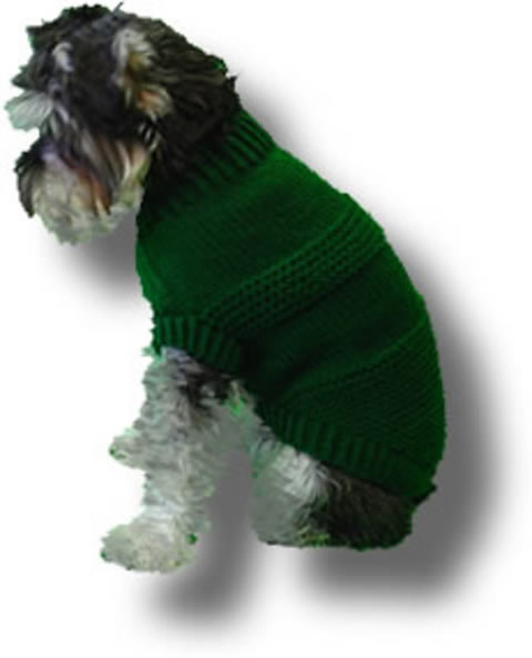 Original Knit Dog Sweater Patterns